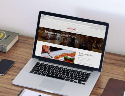 Site web Quarré Crème