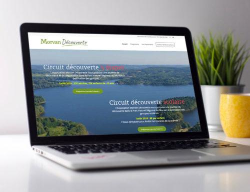 Site web Association Morvan Découverte