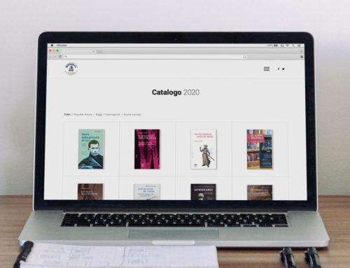 """Site pour maison d'édition """"Biblioteca Clueb"""""""